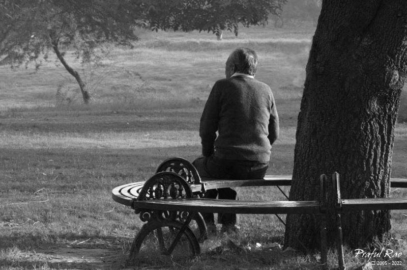 Loneliness of old age