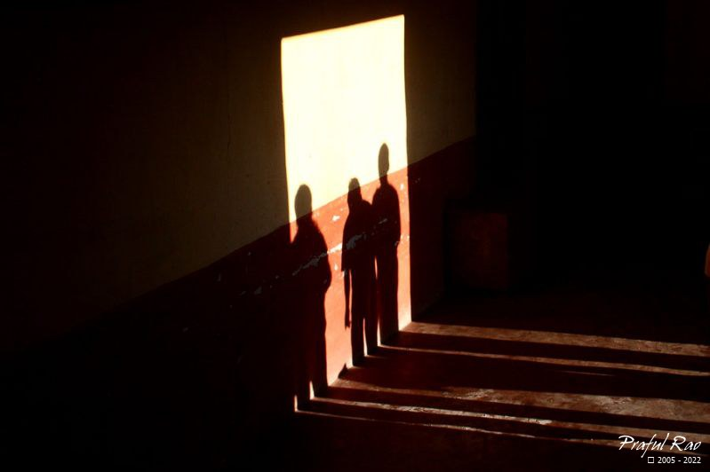 Shadows of devotees